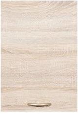 Black Red White Kitchen Upper Cabinet Junona Line G1D/40/57 LP Sonoma Oak