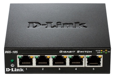 Tīkla centrmezgls D-Link DGS-105/E