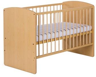 Bērnu gulta Klups Karolina II Pine, 120x60 cm