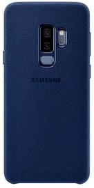 Samsung Alcantra Cover For Samsung Galaxy S9 Plus Blue