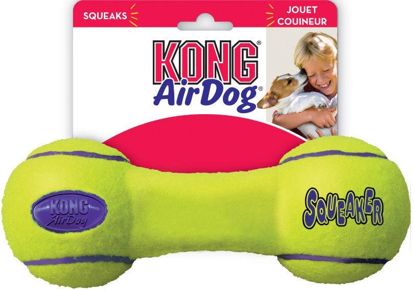 Kong Air Kong Squeaker Dumbbell Large