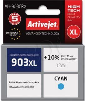 ActiveJet Cartridge AH-903CRX For HP 12ml Cyan