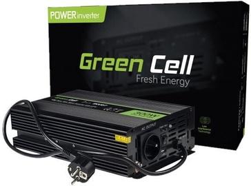 Трансформатор напряжения Green Cell Car Power Inverter Converter 12V to 230V 300W/600W