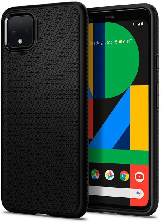 Spigen Liquid Air Back Case For Google Pixel 4 Black