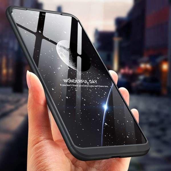 GKK 360 Protection Case For Xiaomi Redmi Note 6 Pro Black
