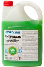 Nordline Longlife G11 Antifreeze Green 4l