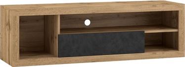 ТВ стол Vivaldi Meble Ever, коричневый, 1400x400x430 мм
