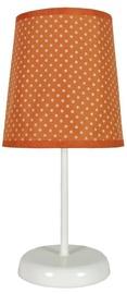 Candellux Gala 41-98286 40W E14 Table Lamp Orange Dotted