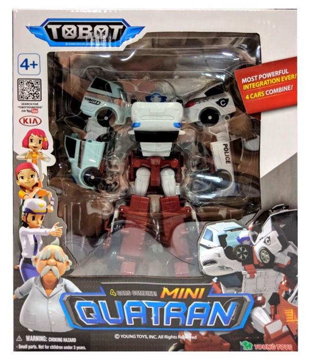Young Toys Mini Tobot Quatran