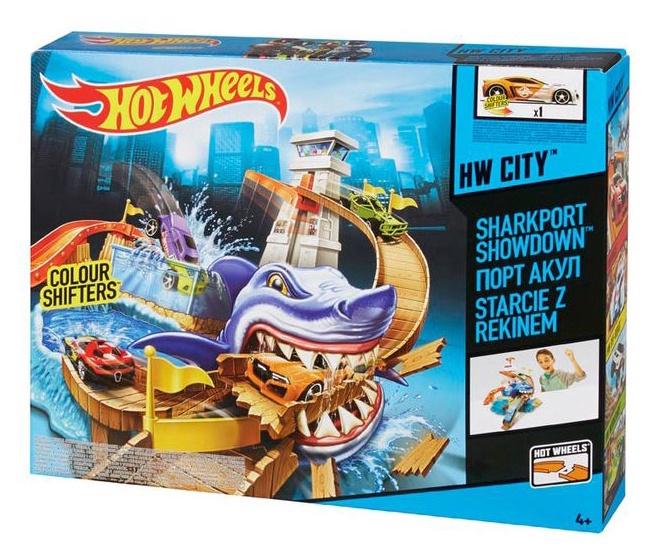 """Rotaļu komplekts Hot Wheels """"Sharkport Showdown"""""""