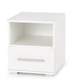 Ночной столик Halmar Lima SN-1, белый, 39x40x44 см
