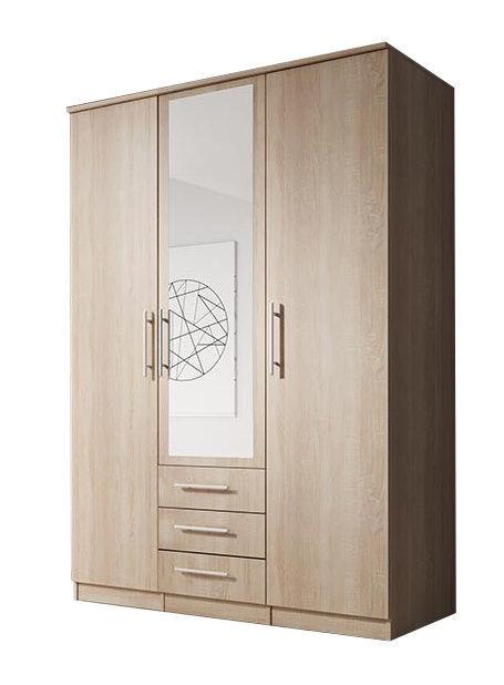 Idzczak Meble Szantal 3D Wardrobe Sonoma Oak