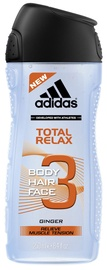 Adidas Total Relax 3in1 250ml Shower Gel