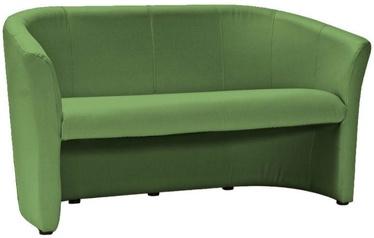 Dīvāns Signal Meble TM-3 Green, 160 x 60 x 76 cm