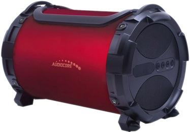 Bezvadu skaļrunis Audiocore AC880 Bazooka Red, 10 W