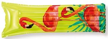 Piepūšams matracis Intex Flamingo, sarkana/dzeltena/zaļa, 1830x690 mm
