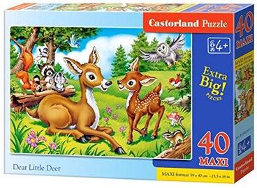 Castorland Puzzle Dear Little Deer 40pcs Maxi
