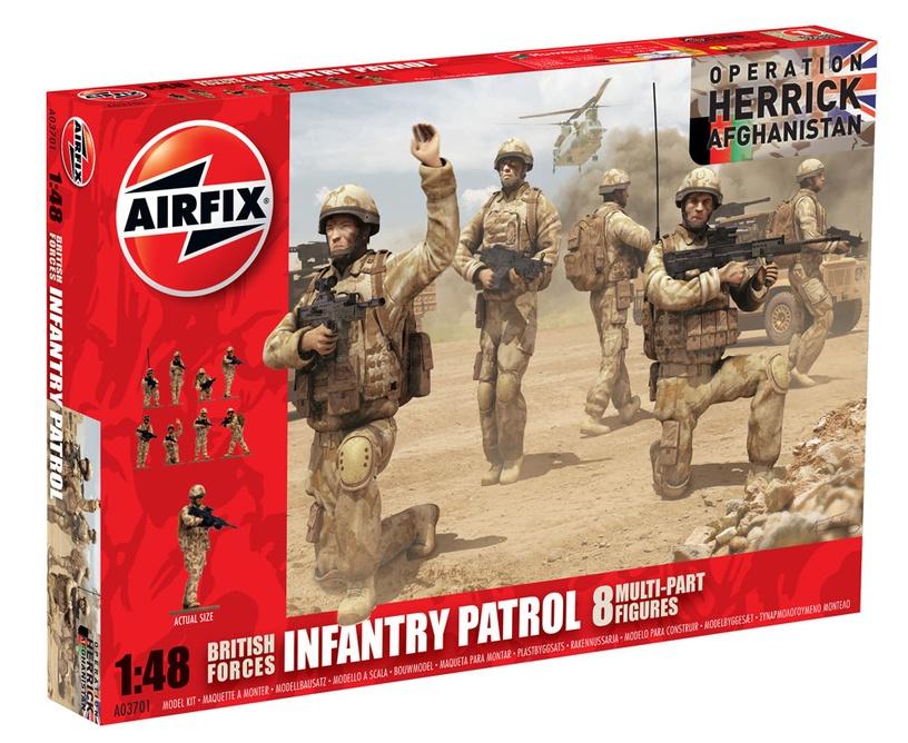 Airfix British Forces Infantry Patrol 1:48