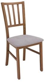 Ēdamistabas krēsls Black Red White Marynarz pionowy/2 Grey, 1 gab.