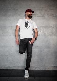 Dinamo Rīga Men T-Shirt White/Black L