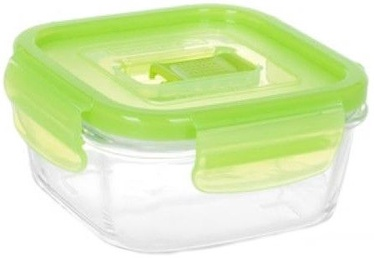 Luminarc Purebox Active Neon Green Rectangular 38Cl