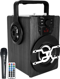 Bezvadu skaļrunis Media-Tech BoomBox Pro BT MT3159 Black, 18 W