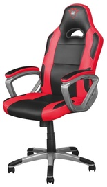 Spēļu krēsls Trust Ryon GXT 705, melna/sarkana