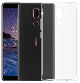 Mocco Ultra Back Case For Nokia 7 Transparent