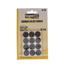 Zole Vagner SDH EP-35, melna, 22 mm x 22 mm x 5 mm
