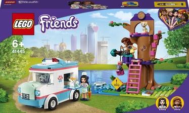Konstruktors LEGO Friends Dzīvnieku klīnikas neatliekamās palīdzības auto 41445