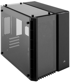 Corsair PC Case Crystal 280X Tempered Glass Black
