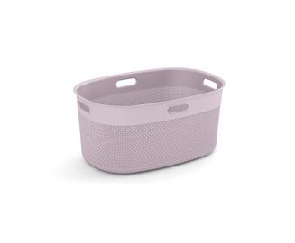 KIS Filo Laundry Oval Basket 45l Pink