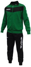 Givova Visa Tracksuit Green Black S