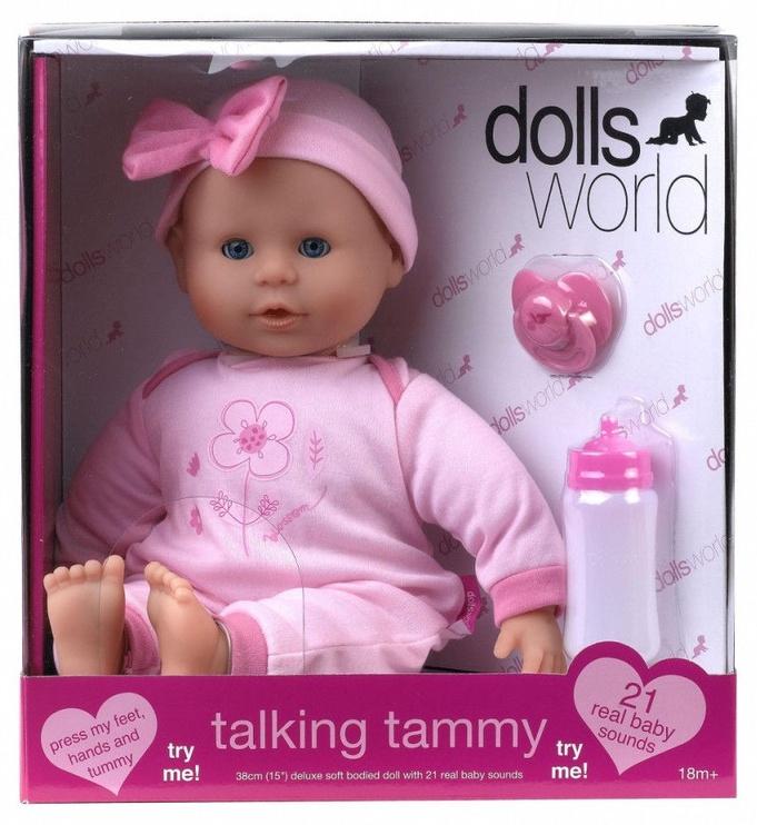 Кукла Dolls World Interactive Talking Tammy 46см 08105