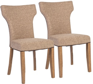 Ēdamistabas krēsls Home4you Manor Light Grey