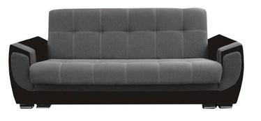 Dīvāngulta Idzczak Meble Delux Black/Dark Grey, 237 x 93 x 95 cm