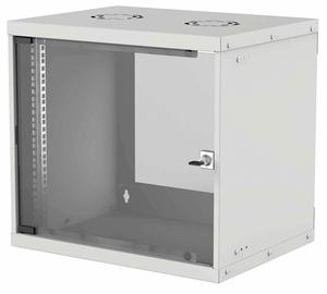 "Intellinet 19"" Basic Wallmount Cabinet 9U 400mm Gray 714167"