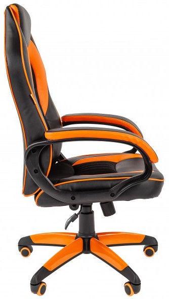 Spēļu krēsls Chairman Game 16, melna/oranža