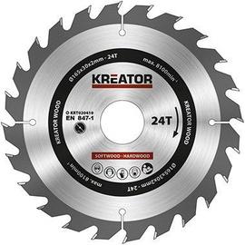 Kreator Sawblade 165x30x2mm 24T