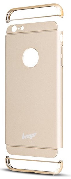 Beeyo Smooth Back Case For Samsung Galaxy A310 Gold