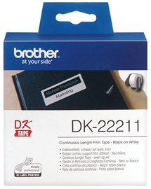 Uzlīmju lenta Brother DK-22211, 1500 cm