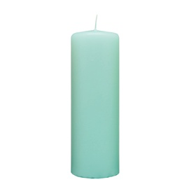 SN Diana Cylindrical Candle 5x15cm Light Blue