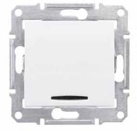 Schneider Electric Sedna MEX SDN0201221 White