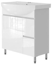 Izlietnes skapis Vento Monika Bathroom Cabinet 75 White