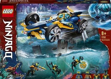 Konstruktors LEGO Ninjago Nindzju ātrā zemūdene 71752, 356 gab.