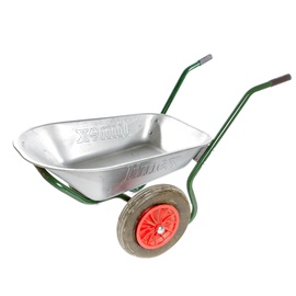 Limex Wheelbarrow Steel/​Green 80l