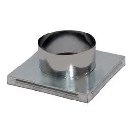 NORDFlam Chimney Adapter D100 170x170mm