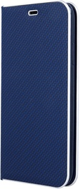 OEM Smart Venus Carbon Book Case For Samsung Galaxy A41 Blue