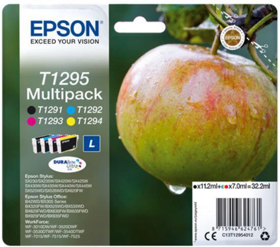 Epson Ink Cartridges Black Cyan Magenta Yellow