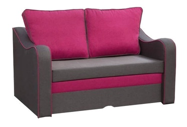 Диван-кровать Idzczak Meble Samba Brown/Red, 140 x 90 x 73 см